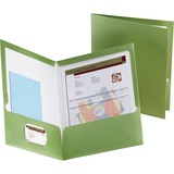 Esselte 5049560, Metallic Two Pocket Folders, ESS5049560