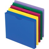 Esselte 50990, Translucent Poly File Jackets, ESS50990