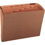 Sparco No Flap Heavy-Duty Accordion Files