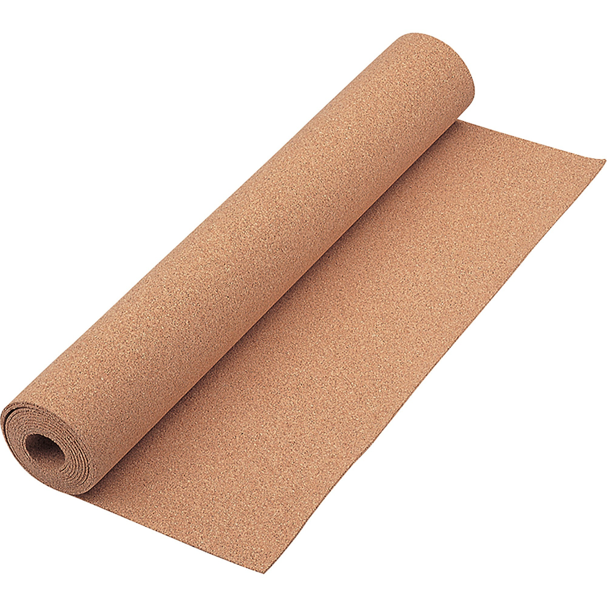 Acco Brands Corporation Quartet® Natural Cork Roll, 24 X 48 - 28 Height X 24 Width - Brown Natural Cork Surface - 1 Each