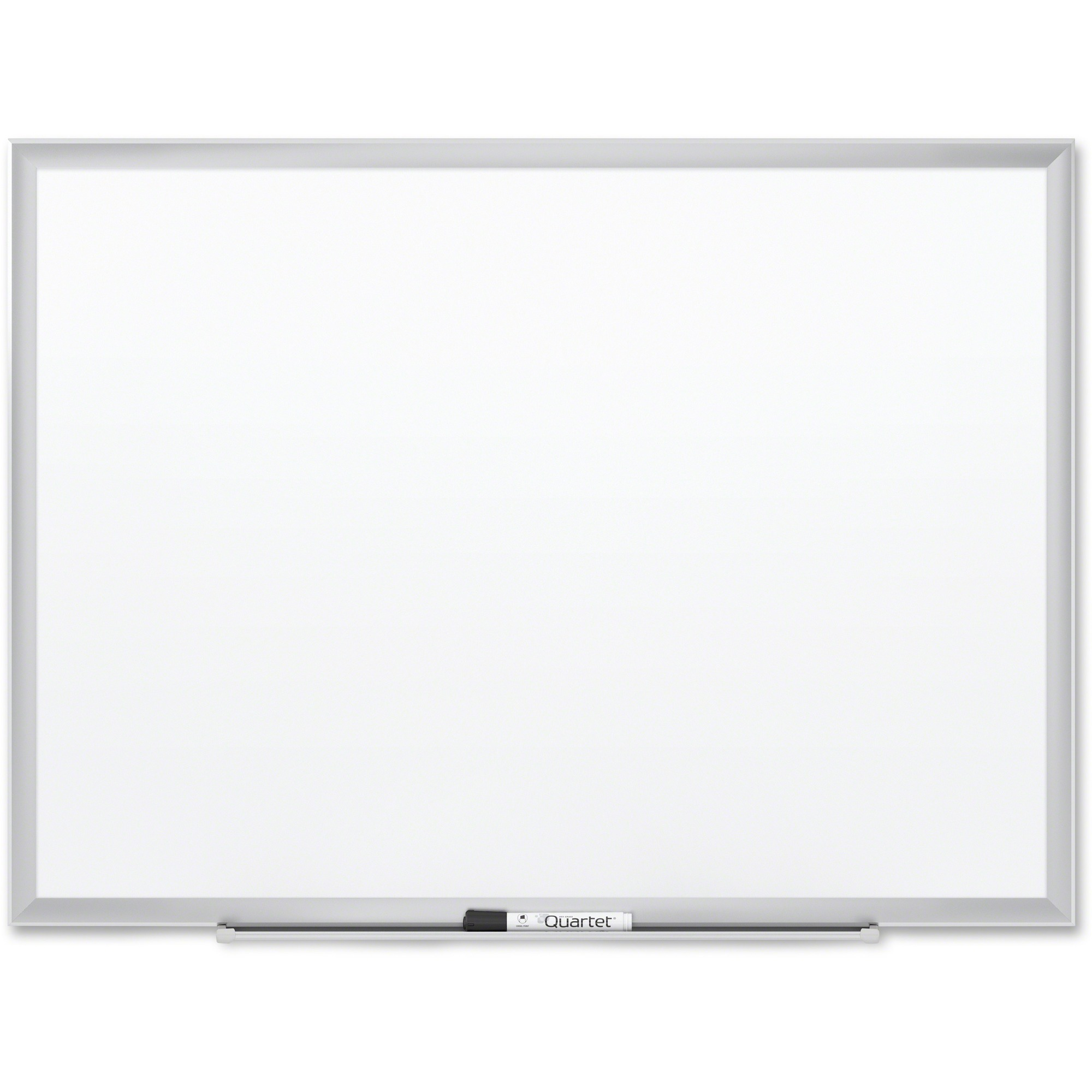 Acco Brands Corporation Quartet® Premium Duramax® Porcelain Magnetic Whiteboard, 4 X 3, Silver Aluminum Frame - 48 (4 Ft) Width X 36 (3 Ft) Height - White Porcelain Surface - Silver Aluminum Frame - Rectangle - Horizontal/vertical - 1 / Each - Taa