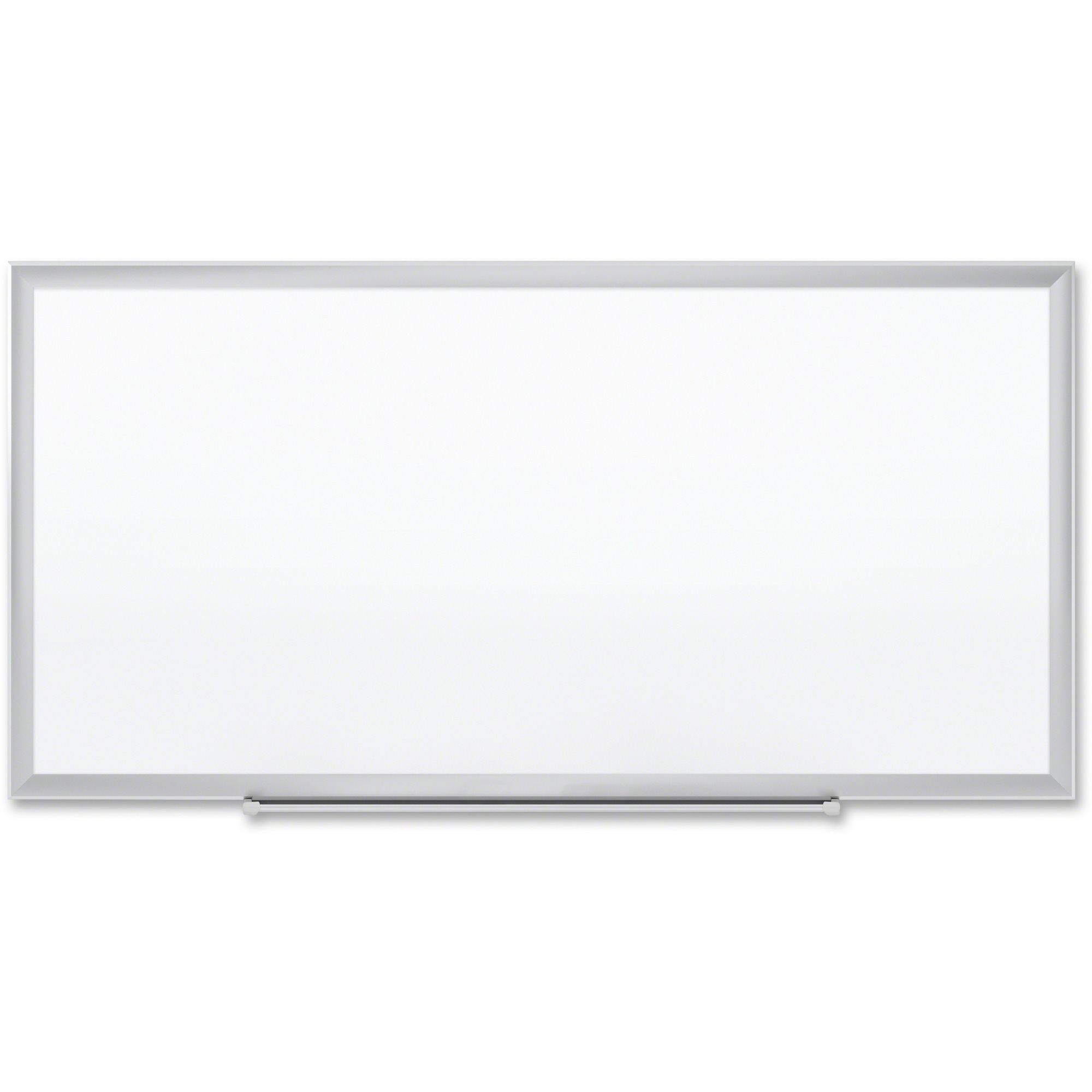 Acco Brands Corporation Quartet® Premium Duramax® Porcelain Magnetic Whiteboard, 8 X 4, Silver Aluminum Frame - 96 (8 Ft) Width X 48 (4 Ft) Height - White Porcelain Surface - Silver Aluminum Frame - Rectangle - Horizontal/vertical - 1 / Each - Taa