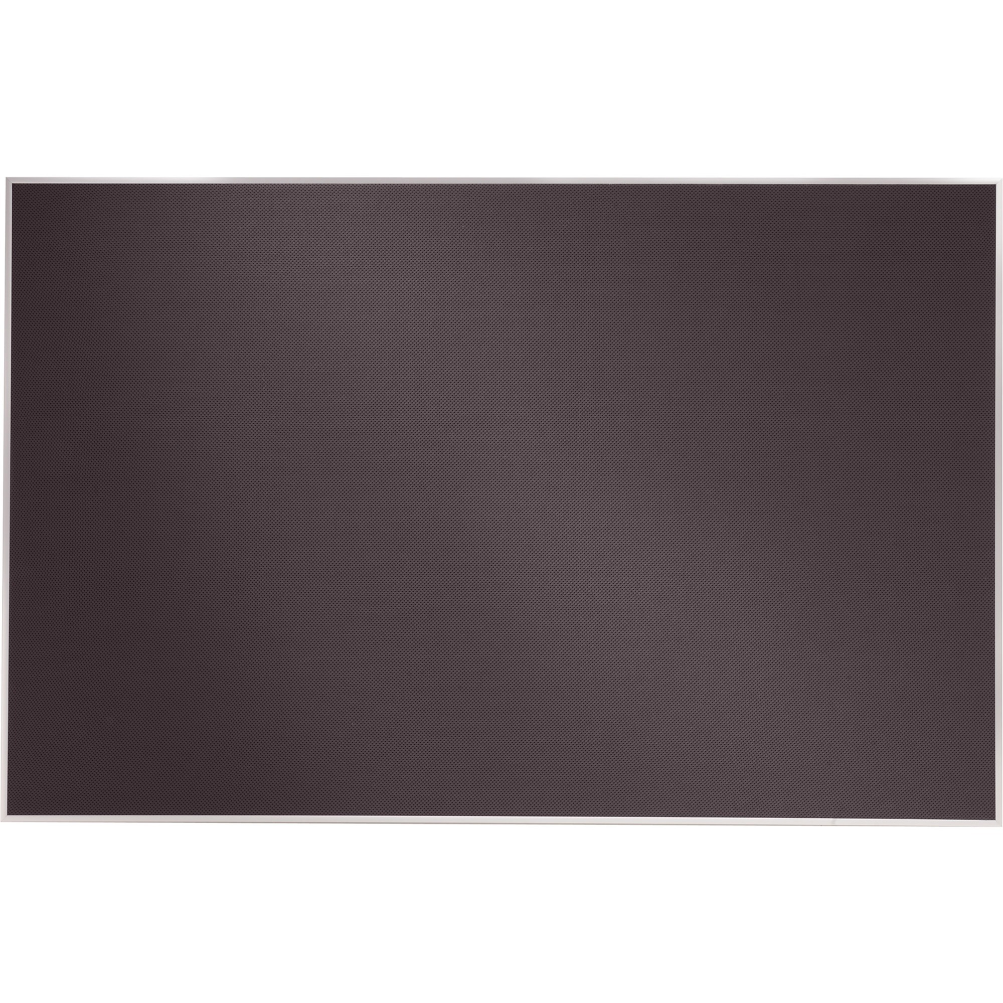Acco Brands Corporation Quartet Matrix® Gray Bulletin Board, 48 X 31, Fabric, Aluminum Frame - 31 Height X 48 Width - Gray Woven Fabric Surface - Silver Aluminum Frame - 1 / Each