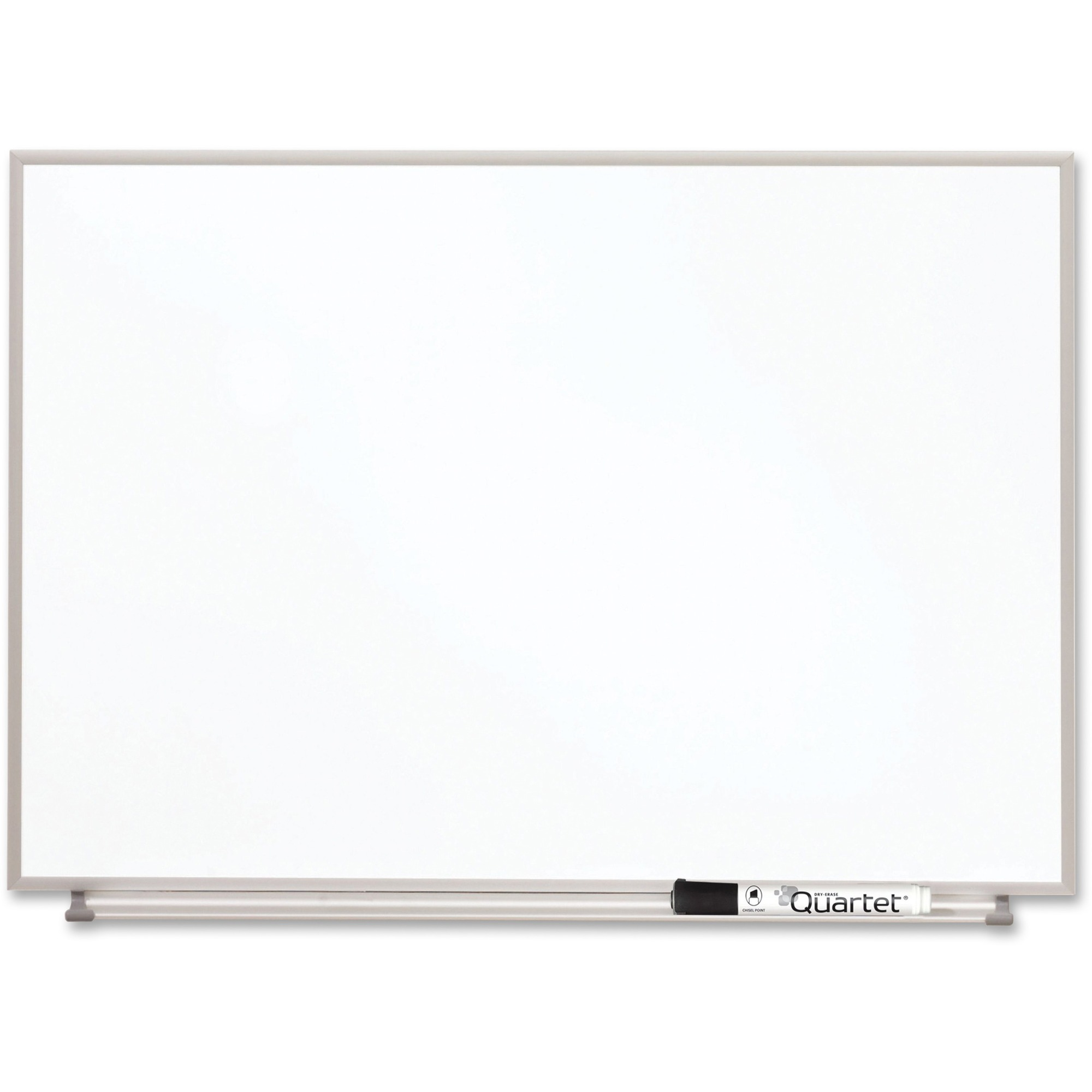 Acco Brands Corporation Quartet Matrix® Magnetic Modular Whiteboards, 23 X 16, Silver Aluminum Frame - 16 Height X 23 Width - White Natural Cork Surface - Silver Aluminum Frame - 1 Each