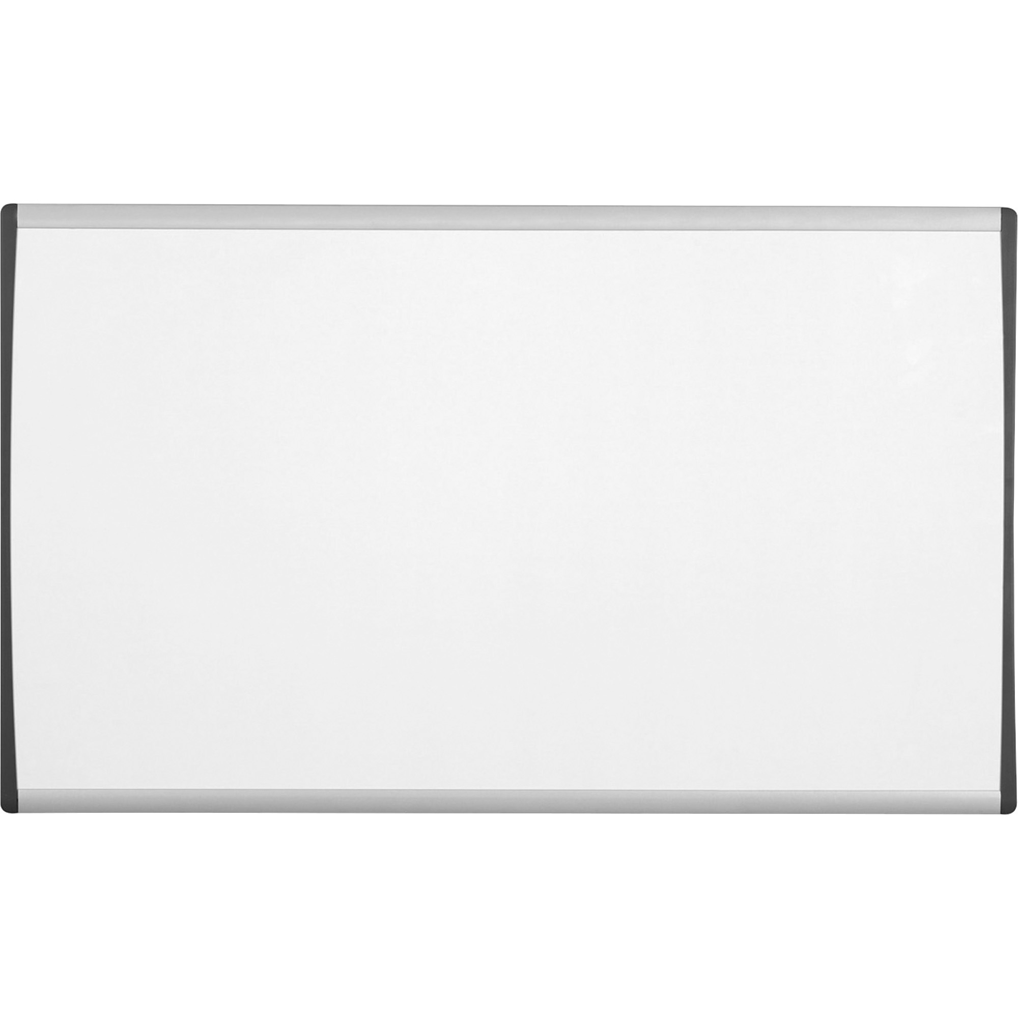 Acco Brands Corporation Quartet® Arc Cubicle Whiteboard - 24 (2 Ft) Width X 14 (1.2 Ft) Height - White Painted Steel Surface - Silver Aluminum Frame - Horizontal - 1 / Each