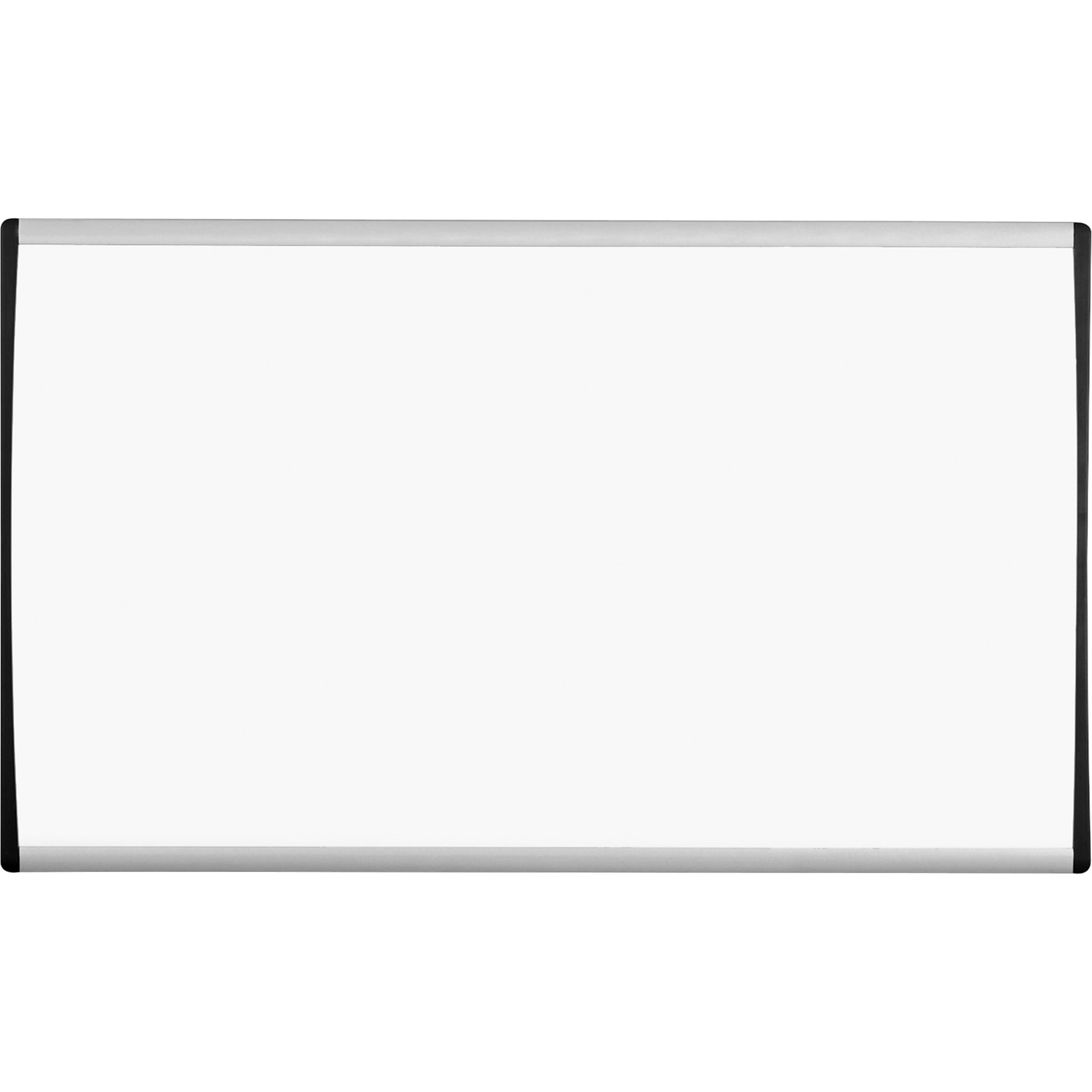 Acco Brands Corporation Quartet® Arc Cubicle Whiteboard - 30 (2.5 Ft) Width X 18 (1.5 Ft) Height - White Painted Steel Surface - Silver Aluminum Frame - Horizontal - 1 / Each
