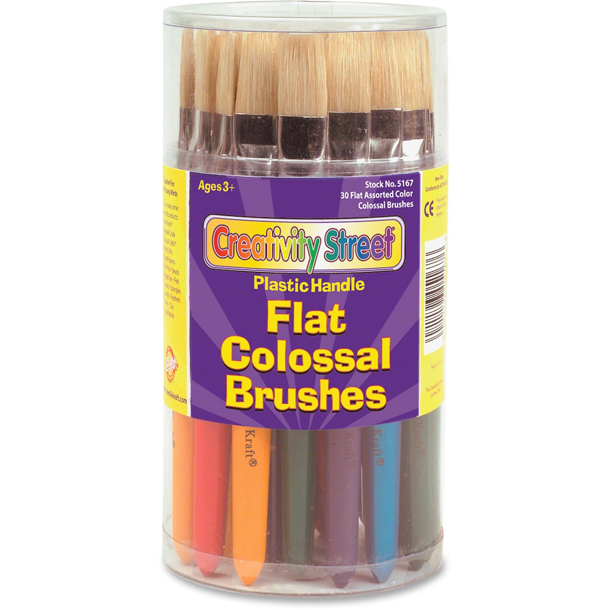 Creativity Street Flat Colossal Brushes