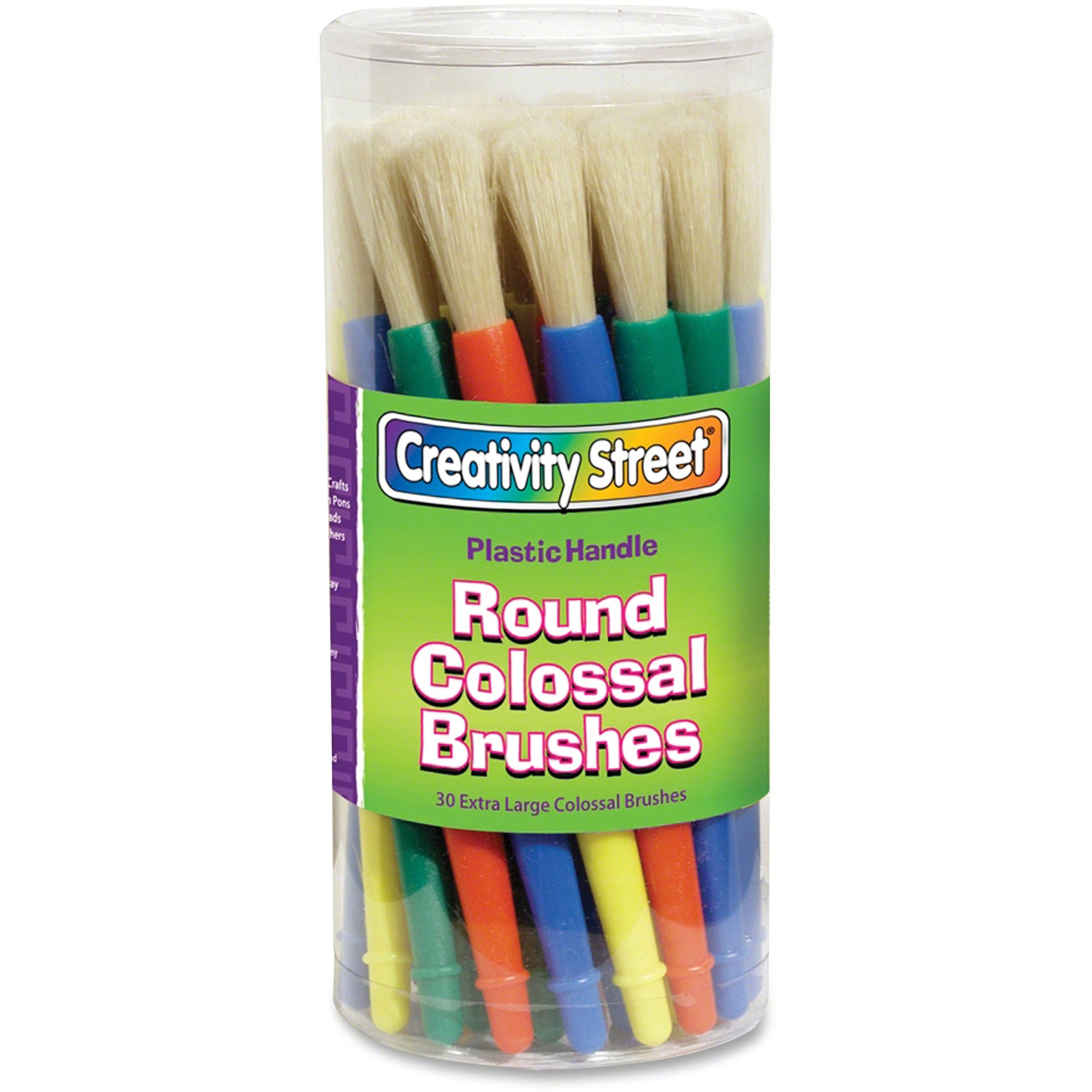 Pacon Corporation Creativity Street Colossal Extra Large Paint Brushes Canister - 1 Brush(Es)