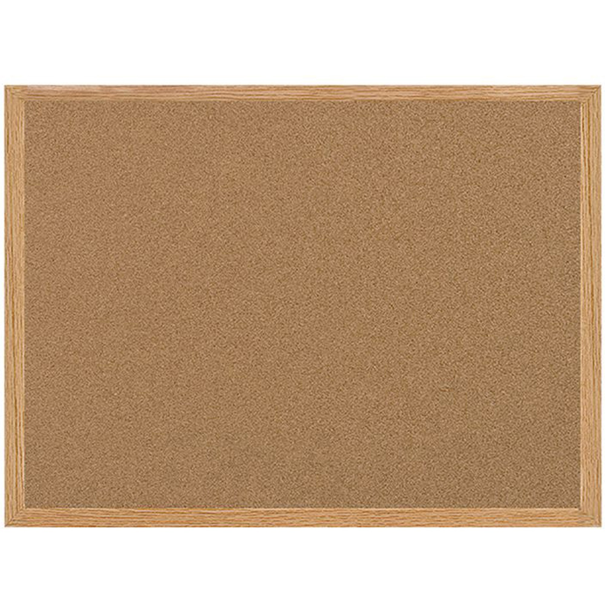 Bi-silque S.a Mastervision Recycled Cork Bulletin Boards - 36 Height X 48 Width - Cork Surface - Self-healing - Wood Frame - 1 Each