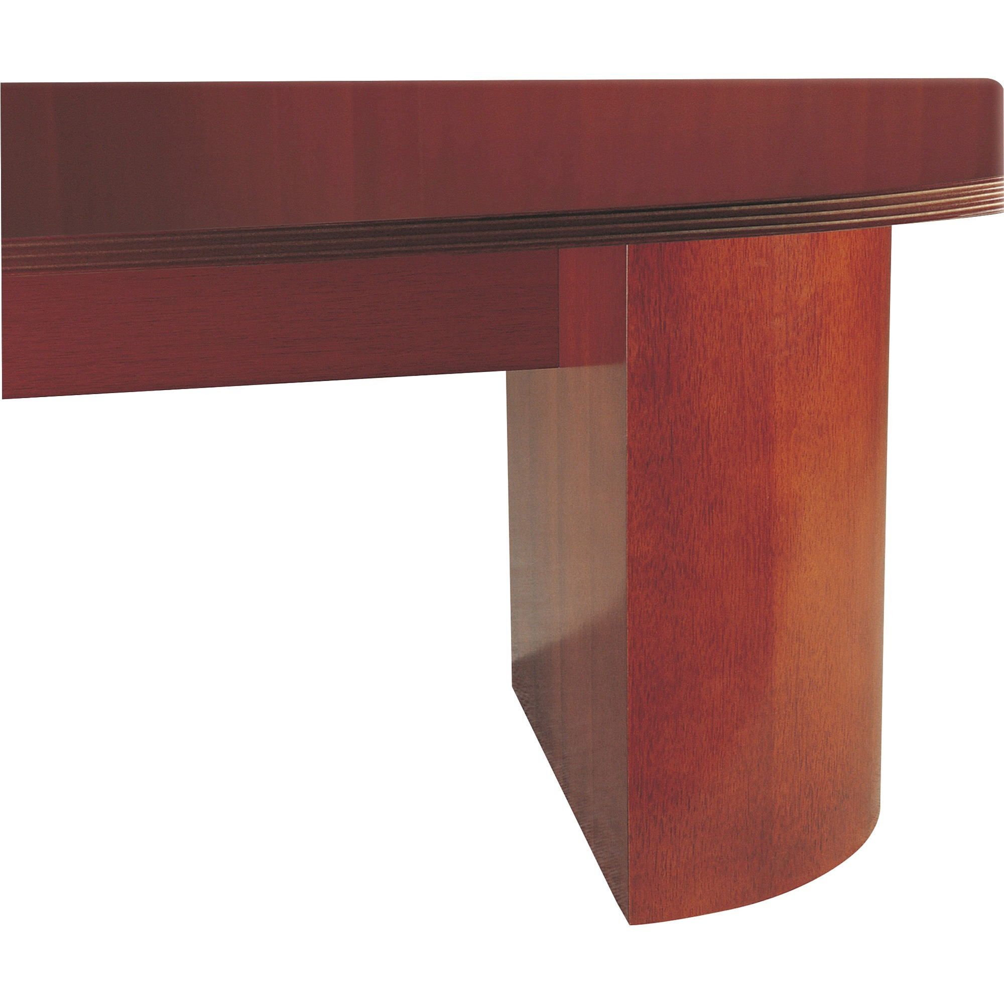 Rudnick Office Furniture Rudnick Contemporary Drum Base 25 X 13 X 28 Material Wood Finish Cherry Veneer