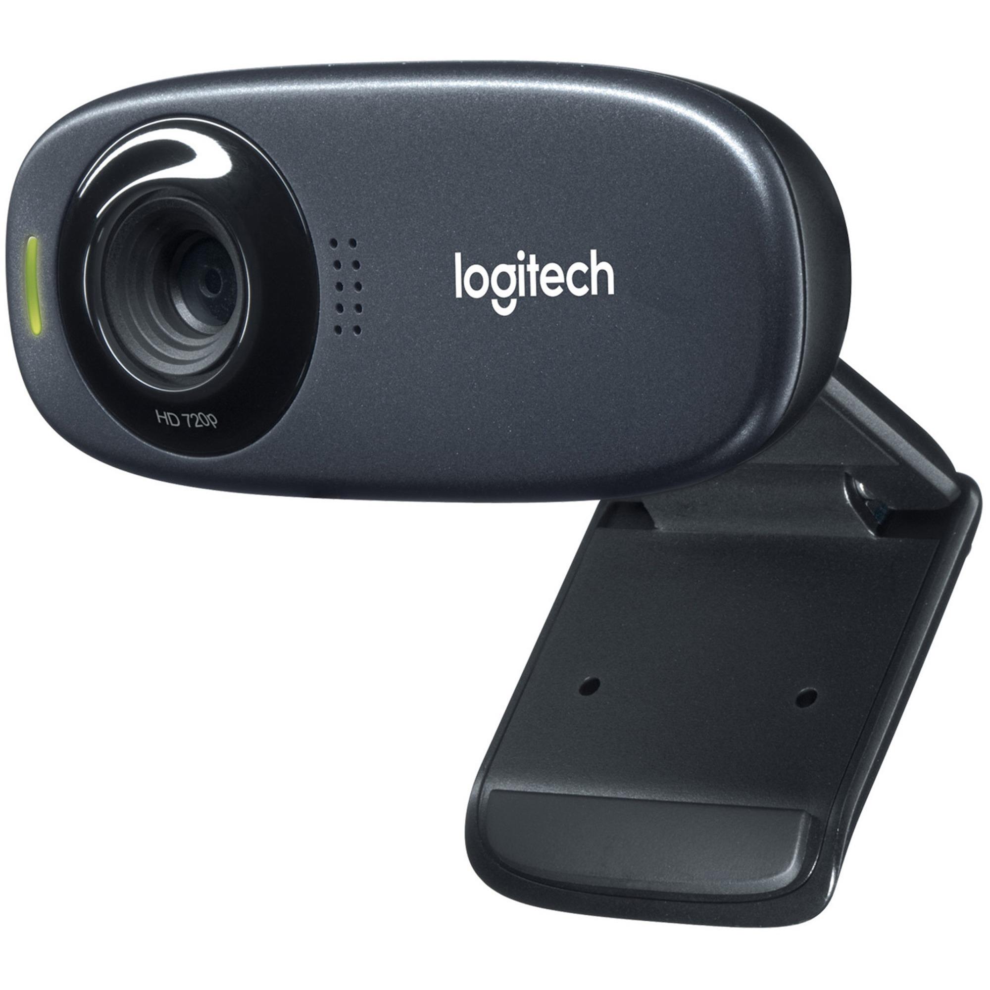 Logitech C310 Webcam - Black - USB 2.0 - 1 Pack(s)_subImage_1