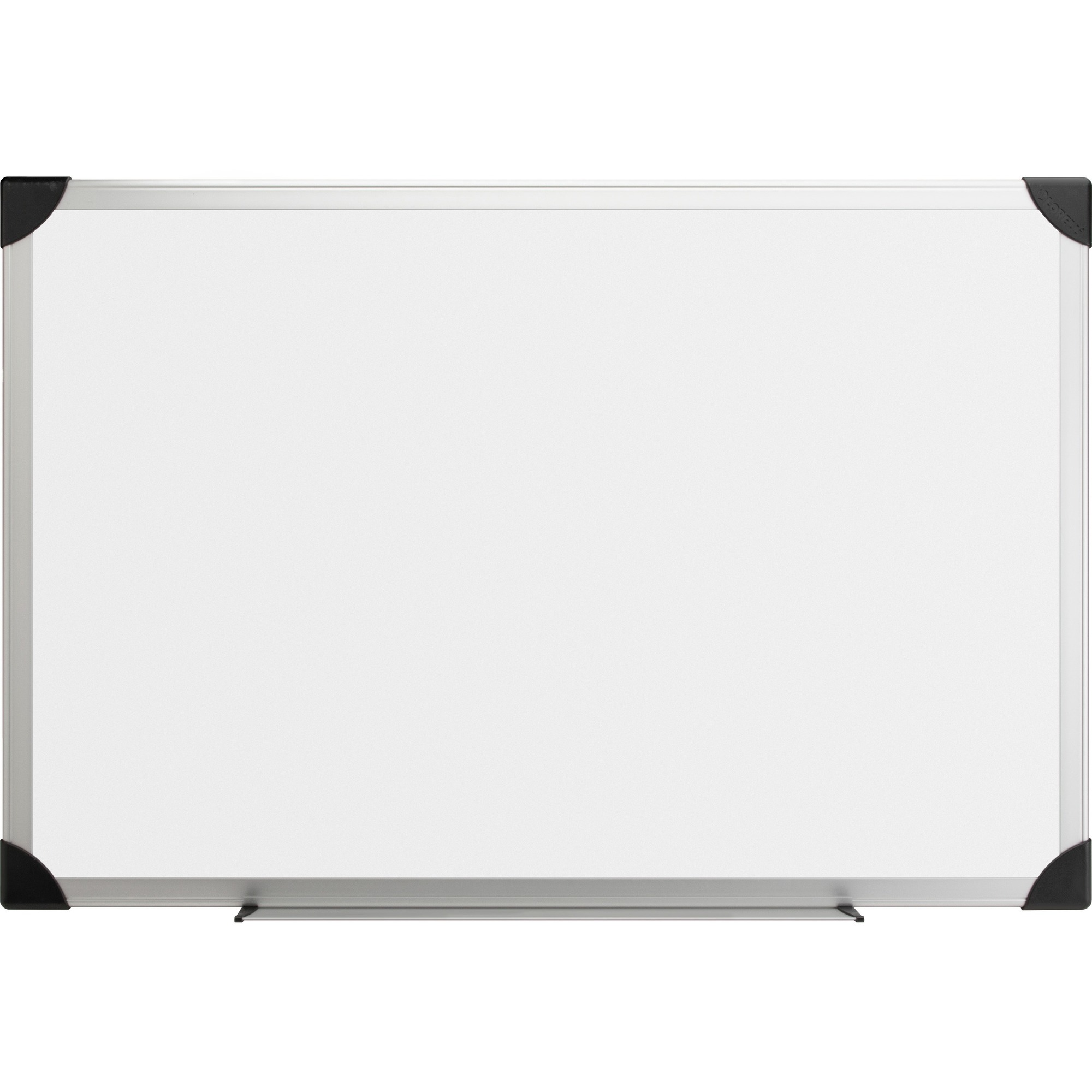 Lorell Aluminum Frame Dry-erase Boards - 72 (6 Ft) Width X 48 (4 Ft) Height - White Styrene Surface - Aluminum Frame - 1 Each