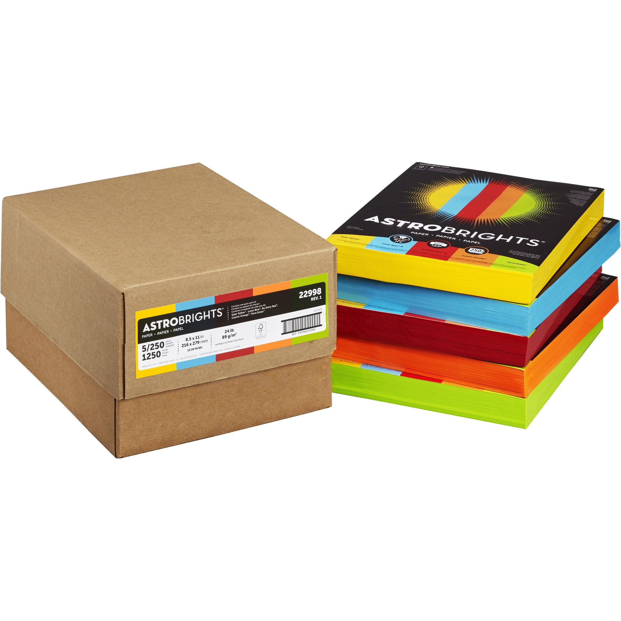 astrobrights paper Astrobrights® color paper in happy assortment lets you easily create impressive school projects, paper crafting projects, flyers, brochures, signs, coupons, and posters craft dazzling designs and projects with astrobrights color paper, in happy assortment our paper is 20% thicker than standard paper, so you can achieve bleed-free results for single and double-sided documents.