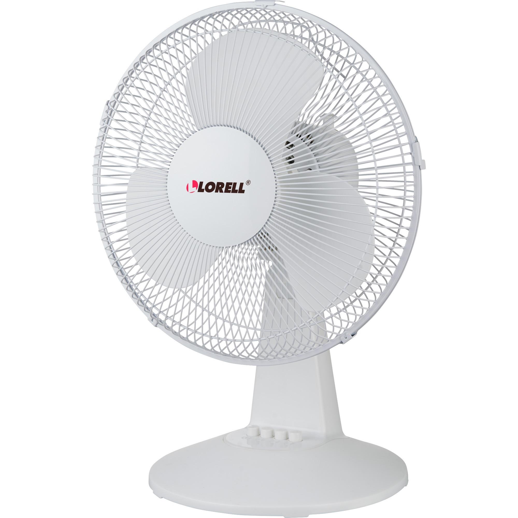 Oscillating Desk Fan : Lorell quot oscillating desk fan