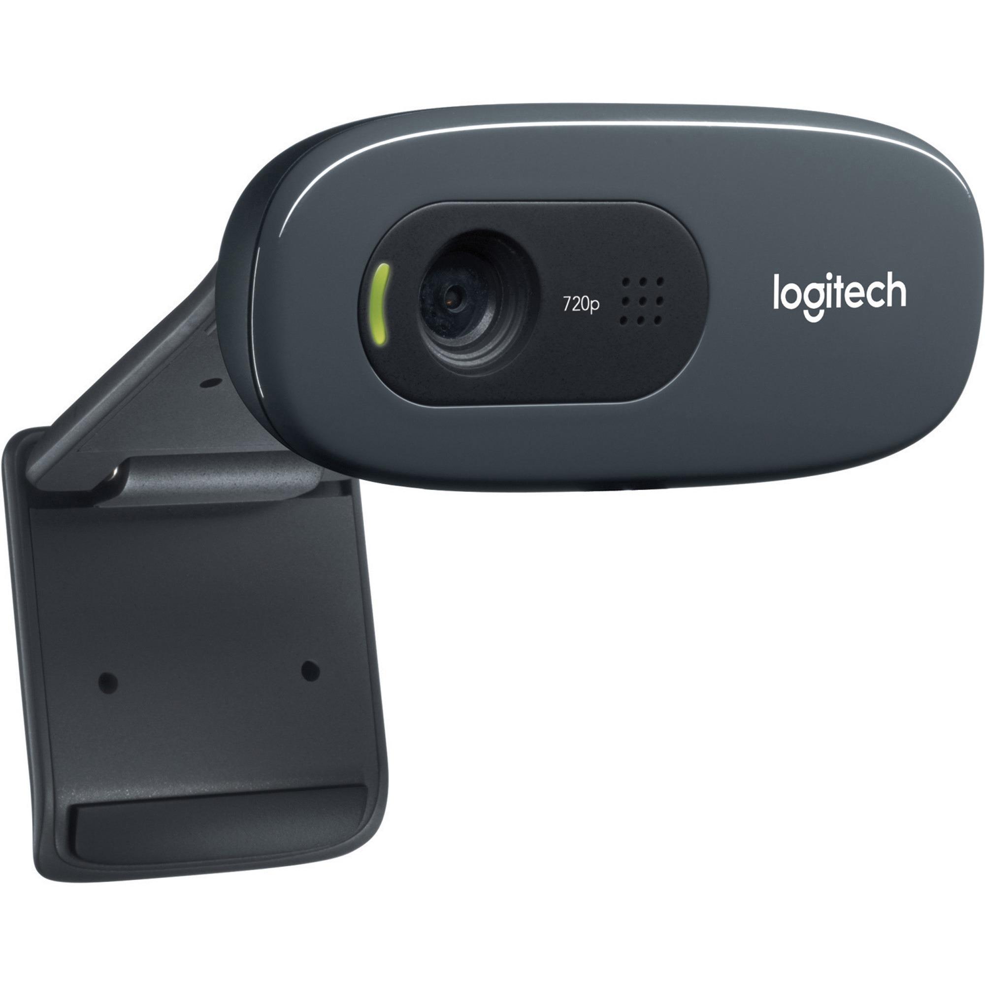Logitech C270 Webcam - Black - USB 2.0_subImage_1