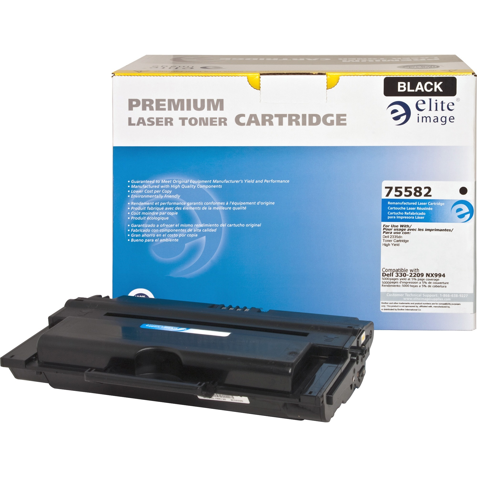 Elite Image 75582 Remanufactured Toner Cartridge