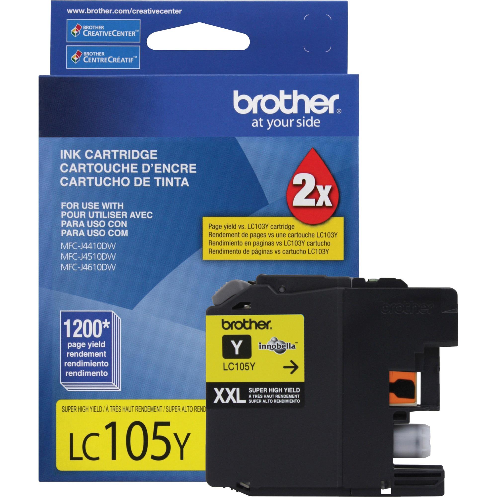 Brother LC105/C/M/Y/BK Ink Cartridges