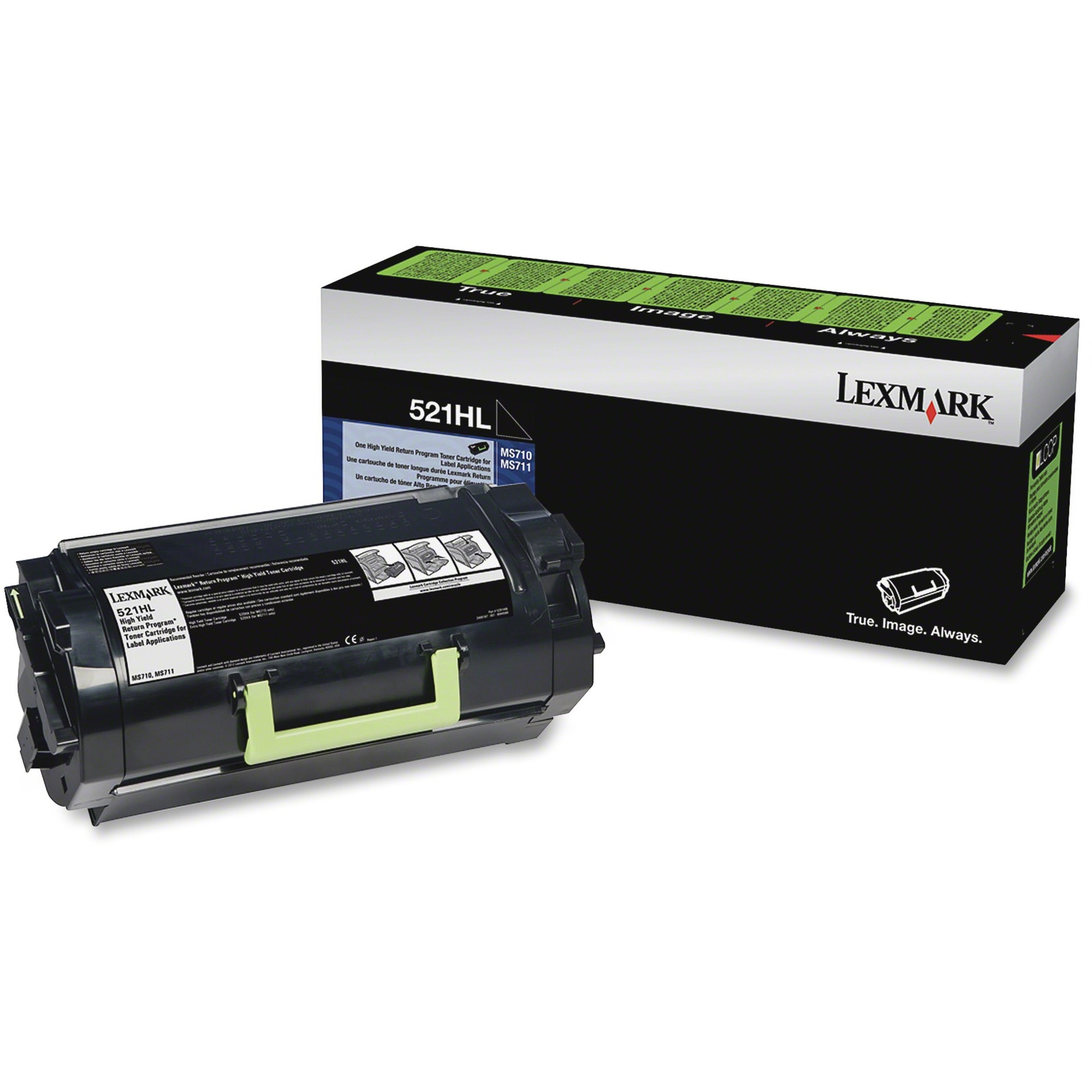Lexmark 521HL Return Program Toner Cartridge
