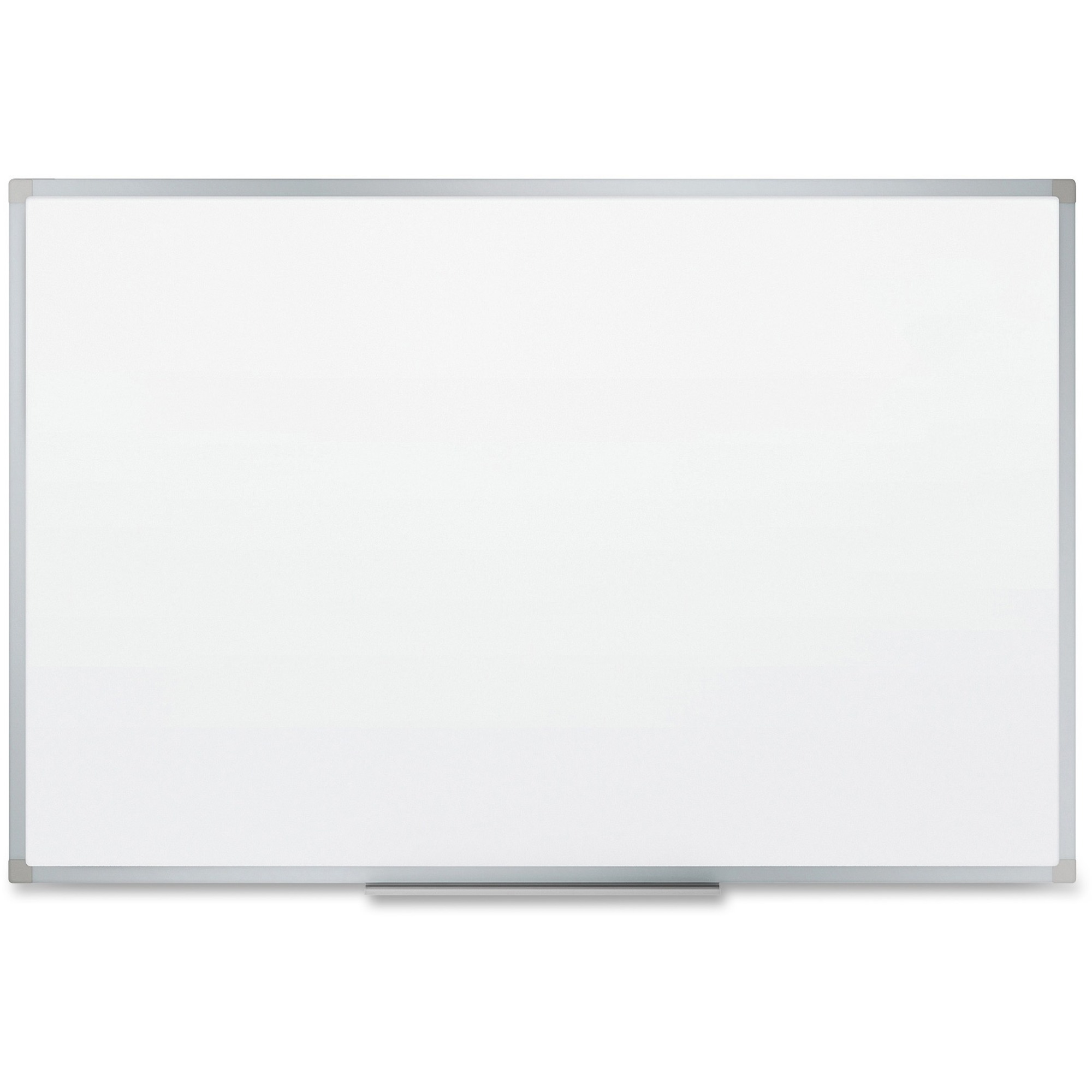 Acco Brands Corporation Mead Dry-erase Board With Marker Tray - 35.9 (3 Ft) Width X 23.8 (2 Ft) Height - White Melamine Surface - Silver Aluminum Frame - 1 Each
