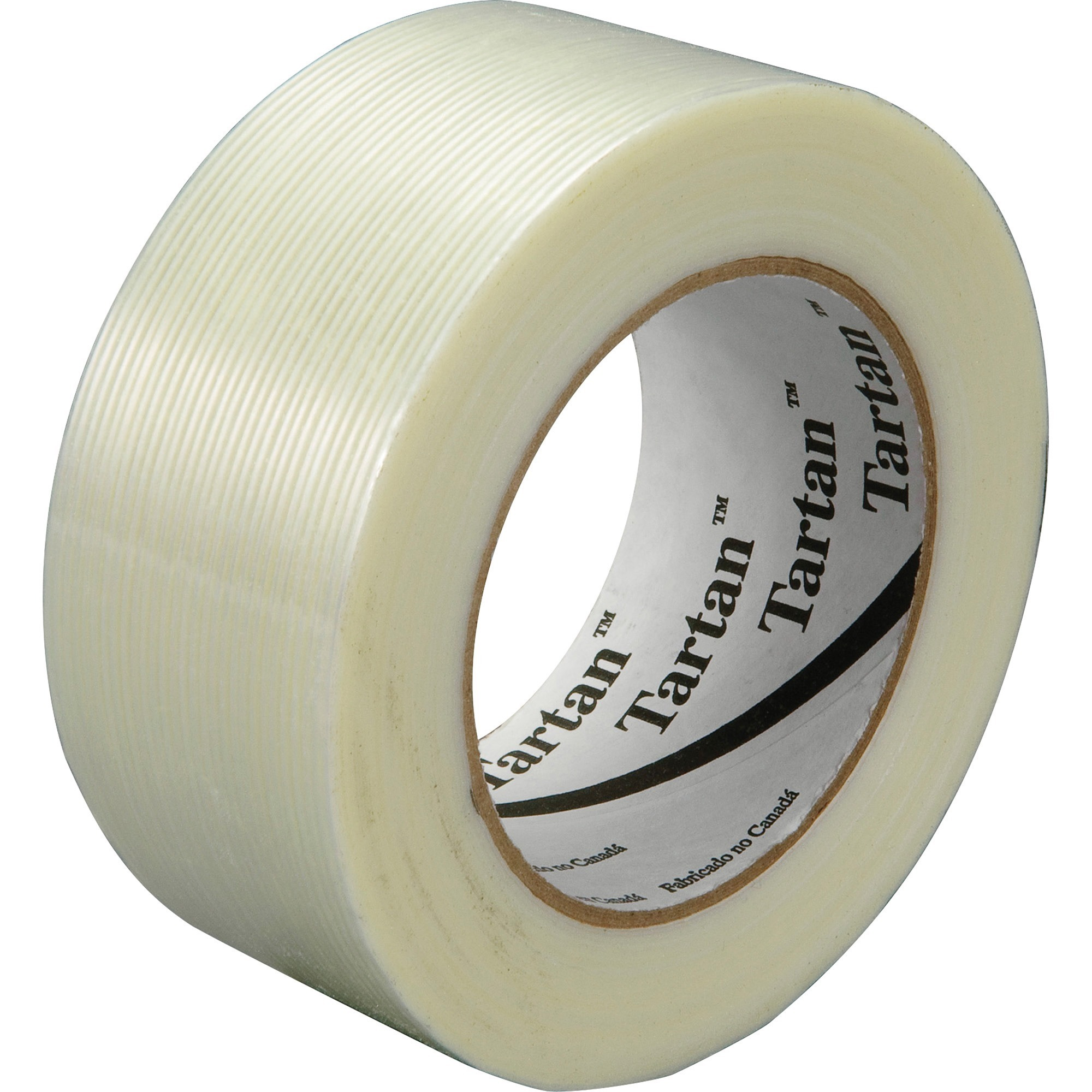 "mmm89334 3/"" Core Glass 0.75/"" Width X 60 Yd Length Scotch Filament Tape"