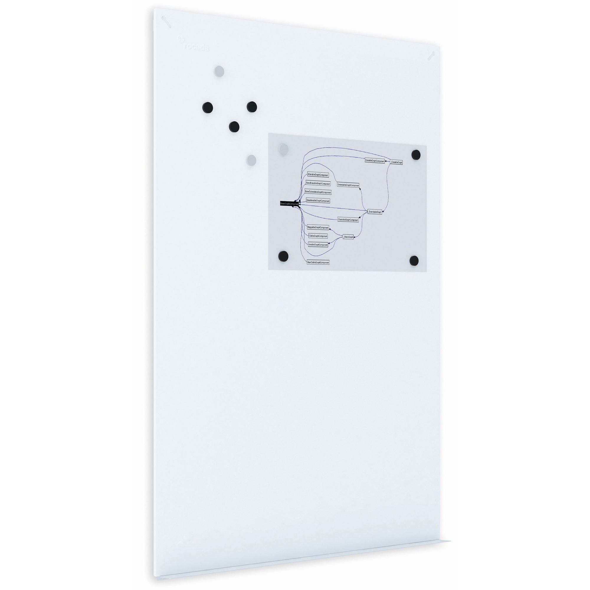 Bi-silque S.a Mastervision Tile Whiteboard Wall System - 45.3 (3.8 Ft) Width X 29.5 (2.5 Ft) Height - White Surface - Rectangle - 1 Each