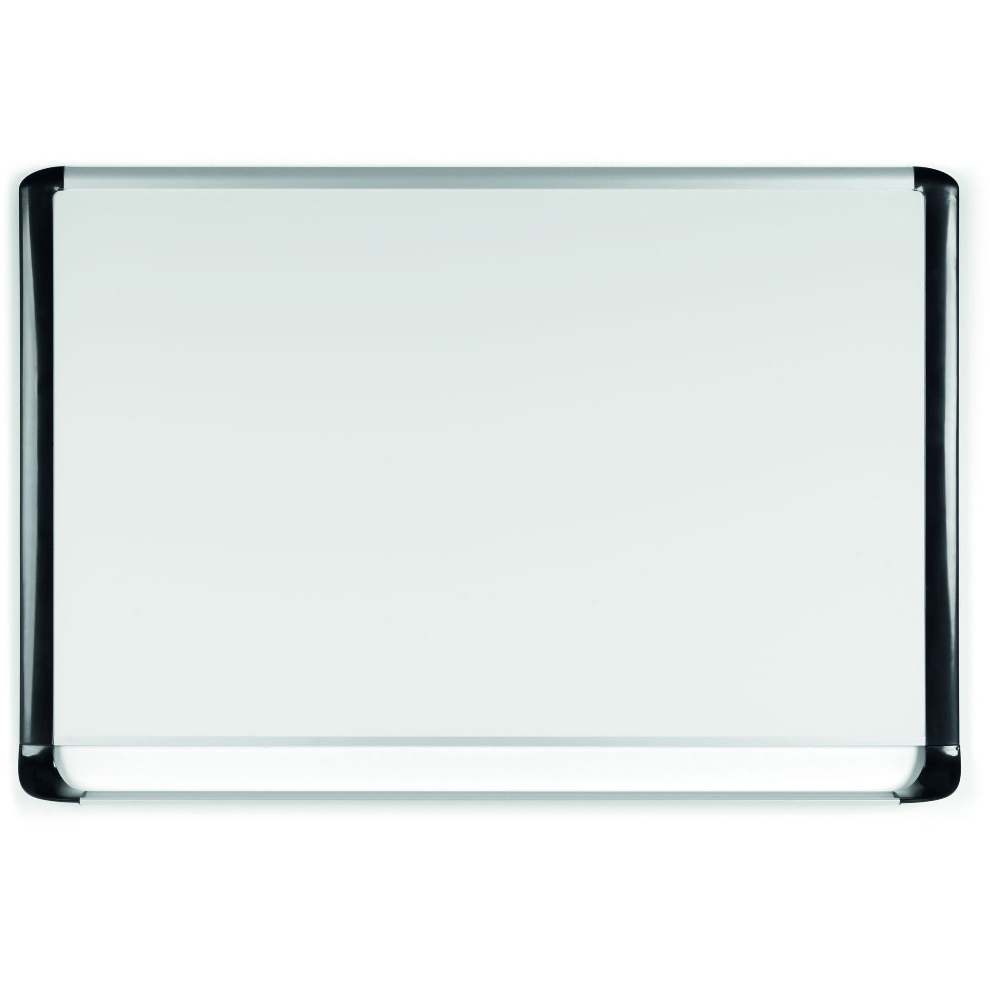 Bi-silque S.a Mastervision Mvi Platinum Plus Dry-erase Board - 48 (4 Ft) Width X 36 (3 Ft) Height - White Porcelain Surface - Silver/black Aluminum/plastic Frame - Rectangle - Assembly Required - 1 Each