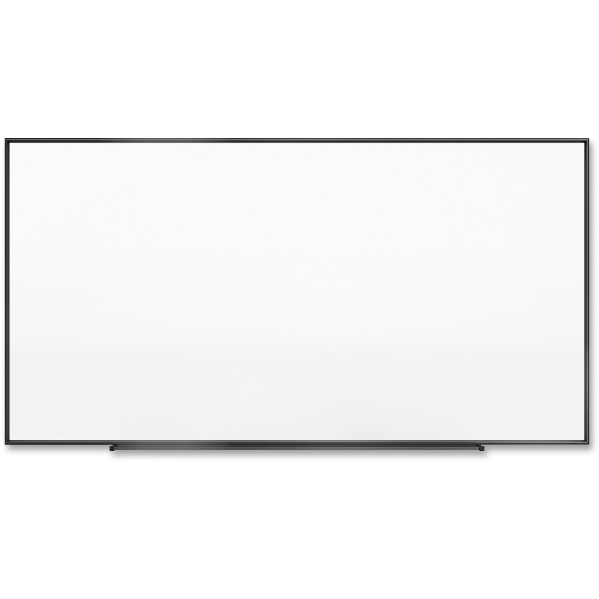 Acco Brands Corporation Quartet® Fusion Nano-clean Magnetic Whiteboard - 96 (8 Ft) Width X 48 (4 Ft) Height - White Surface - Black Aluminum Frame - Horizontal/vertical - 1 Each