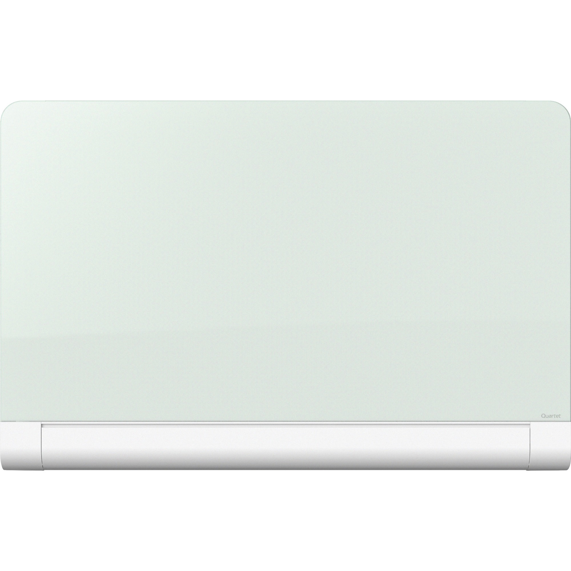 Acco Brands Corporation Quartet® Horizon Magnetic Glass Dry-erase Board With Concealed Tray - 50 (4.2 Ft) Width X 28 (2.3 Ft) Height - White Tempered Glass Surface - Rectangle - Horizontal/vertical - Mount - 1 Each