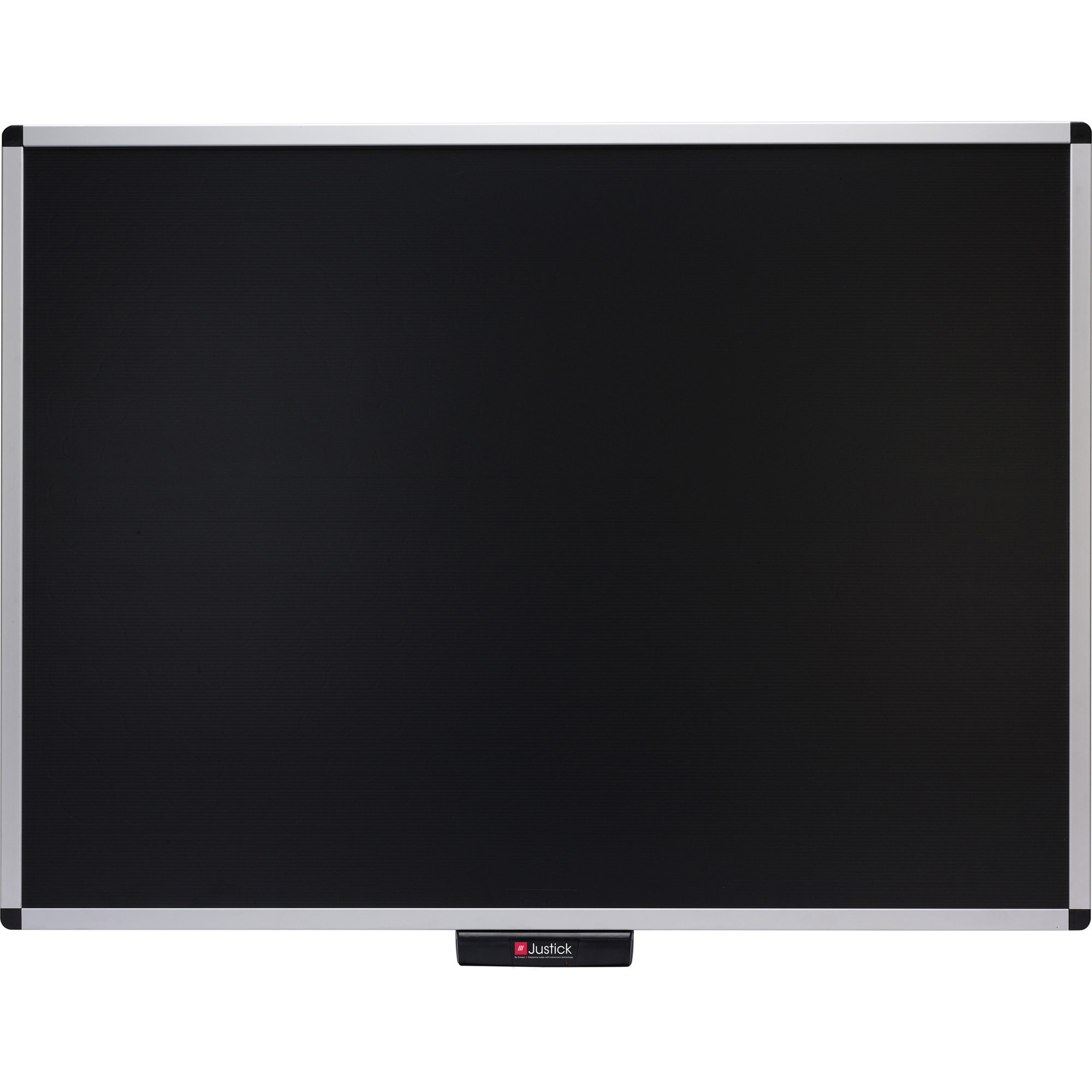 Smead Manufacturing Company Justick Aluminum Frame Black Electro Bulletin Board - 36 Height X 48 Width - Black Justick Electro Adhesion Surface Technology - Aluminum Frame - 1 Each
