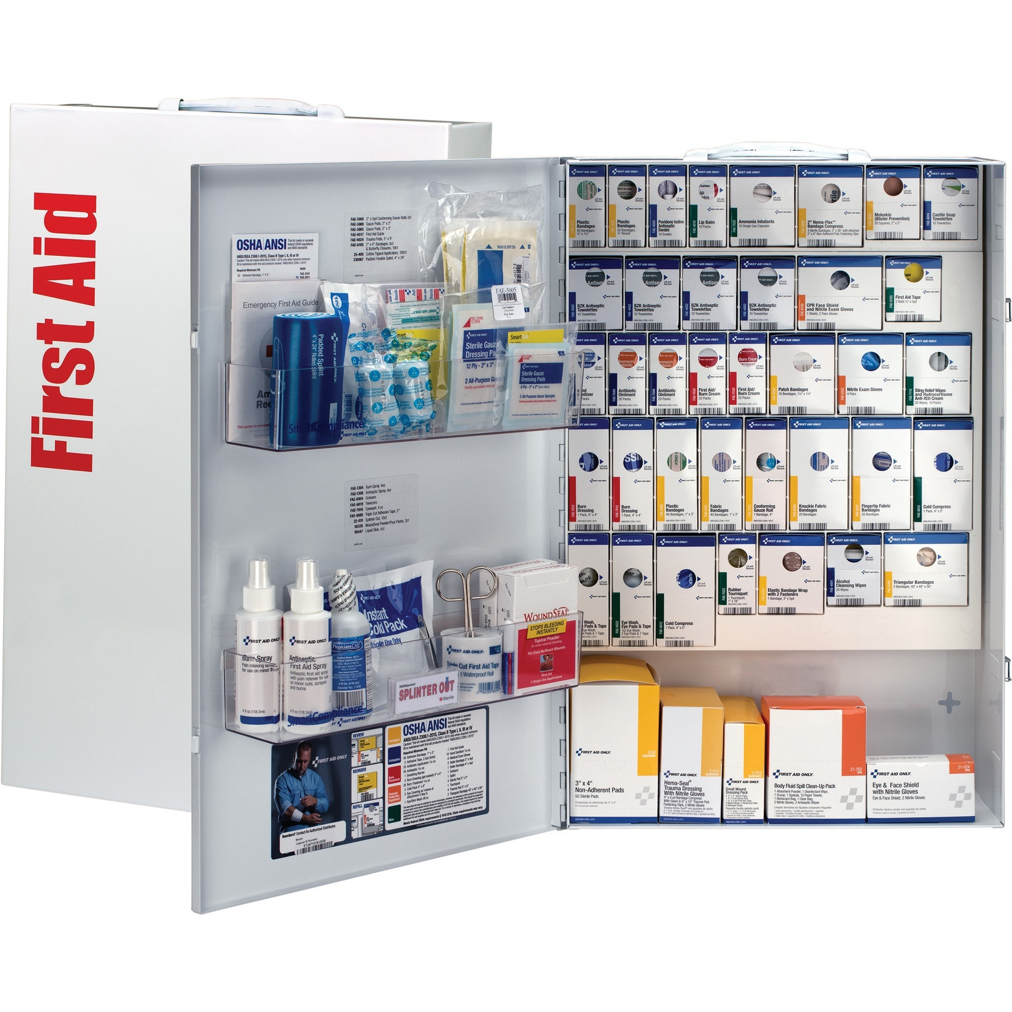 First Aid Only XXL SmartCompliance General Business First Aid Cabinet without Medications