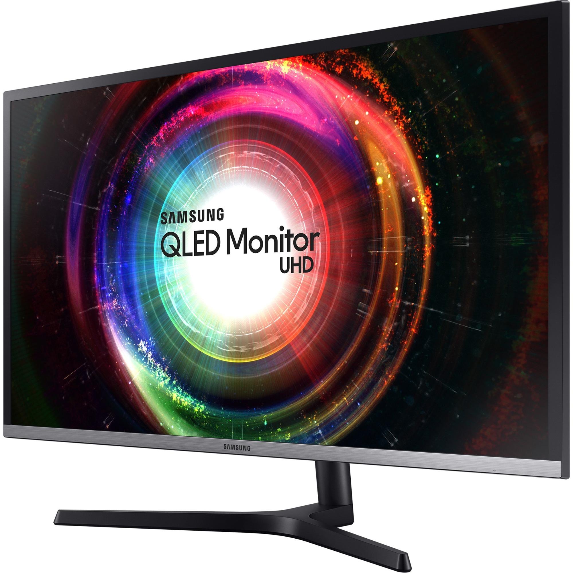 "Samsung U32H850UMN 31.5"" 4K UHD Quantum Dot LED LCD Monitor - 16:9 - Black, Silver_subImage_1"
