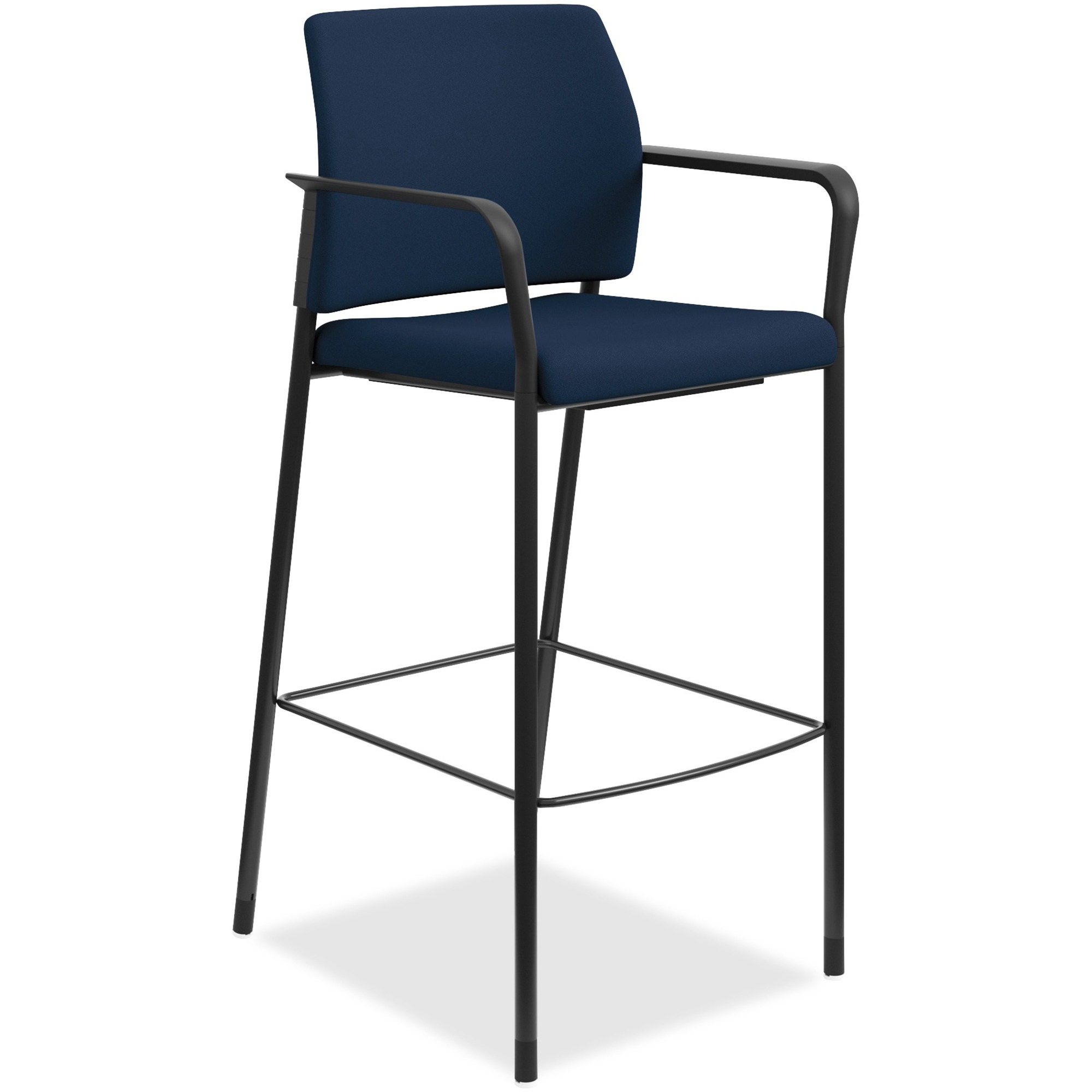 HON Accommodate Cafe Stool, Fixed Arms