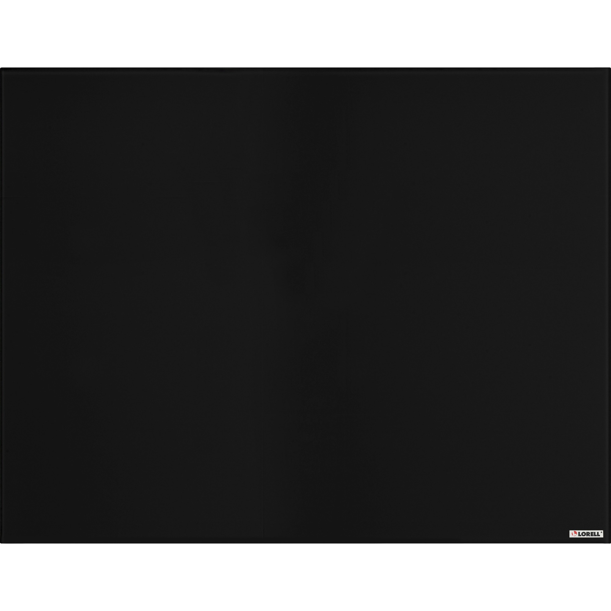Lorell Magnetic Glass Color Dry Erase Board - 48 (4 Ft) Width X 36 (3 Ft) Height - Black Glass Surface - Rectangle - Mount - 1 Each