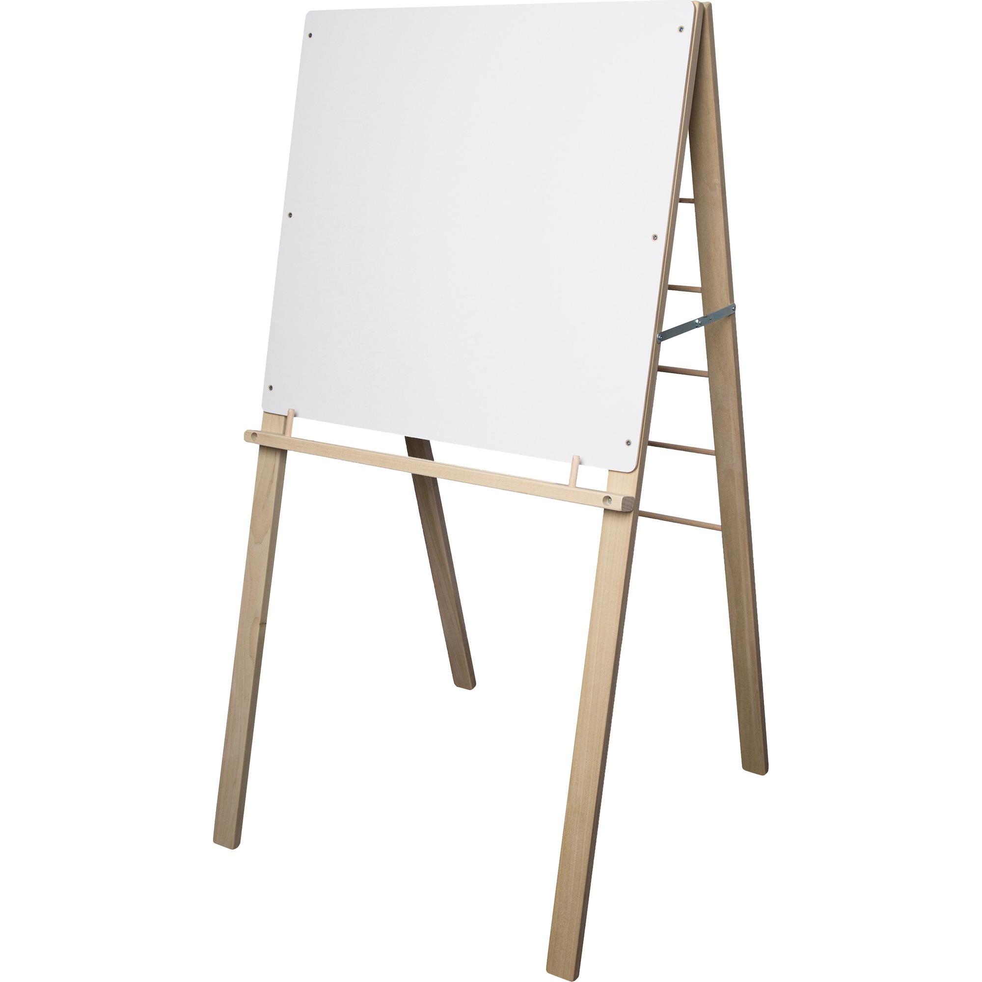 Flipside Products, Inc Flipside Big Book Easel - 24 (2 Ft) Width X 24 (2 Ft) Height - White Surface - Rectangle - Assembly Required - 1 Each