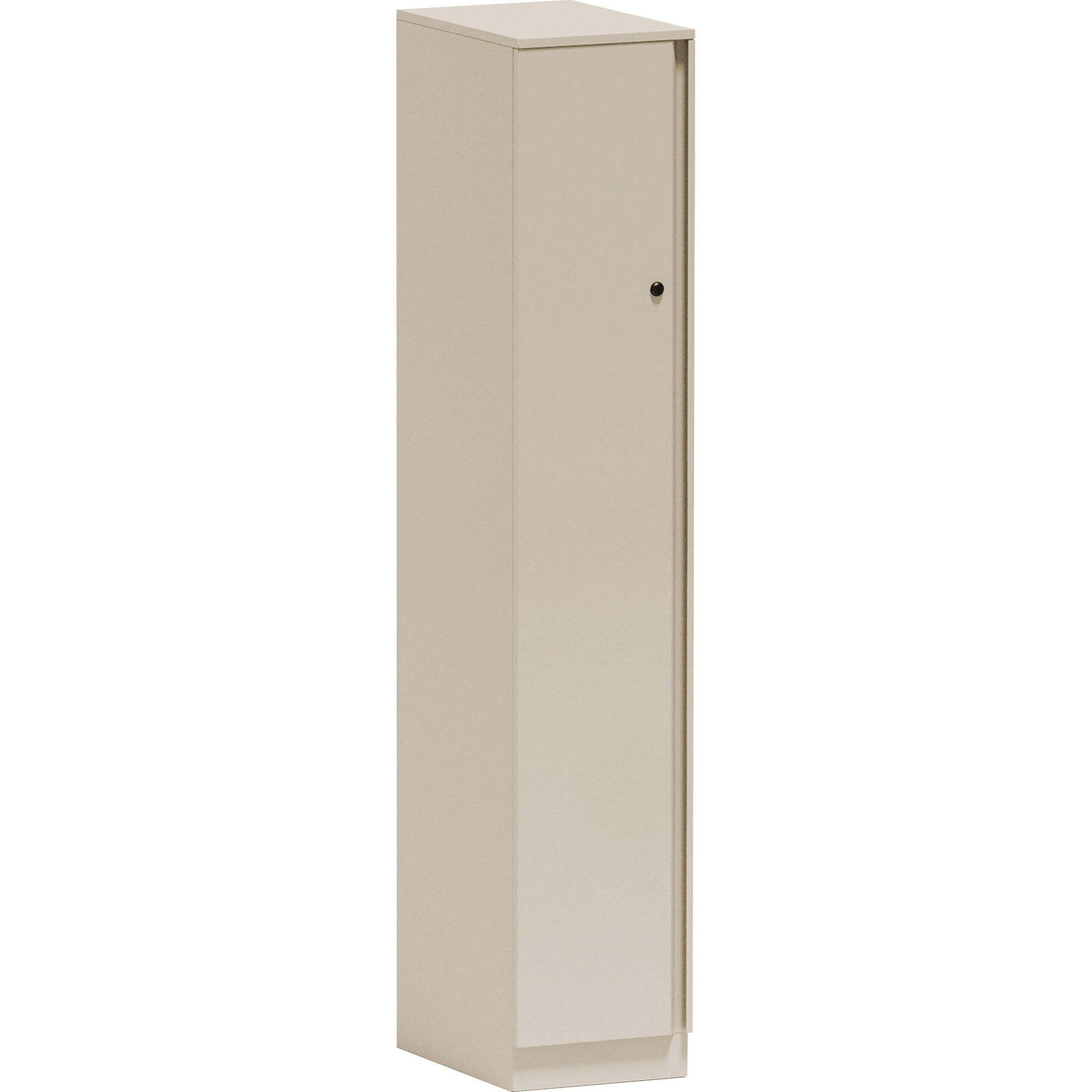 Image for Great Openings Single Locker - Wall - for Jacket, Shoes - Overall Size 65.9 x 12 - Beige - Metal