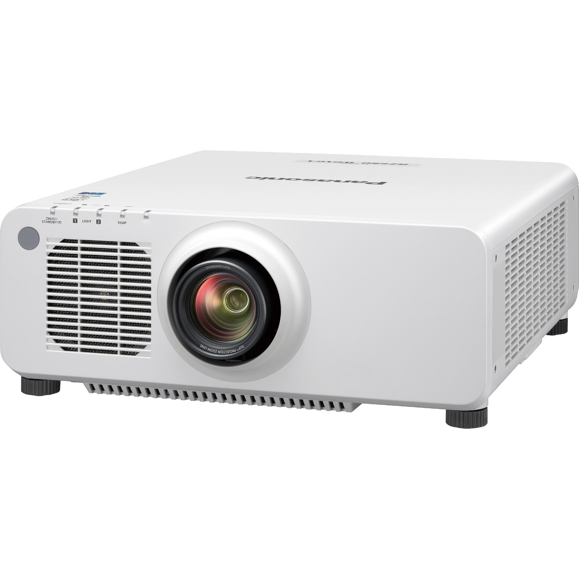 Panasonic SOLID SHINE PT-RZ660 DLP Projector - 16:10 - White_subImage_1