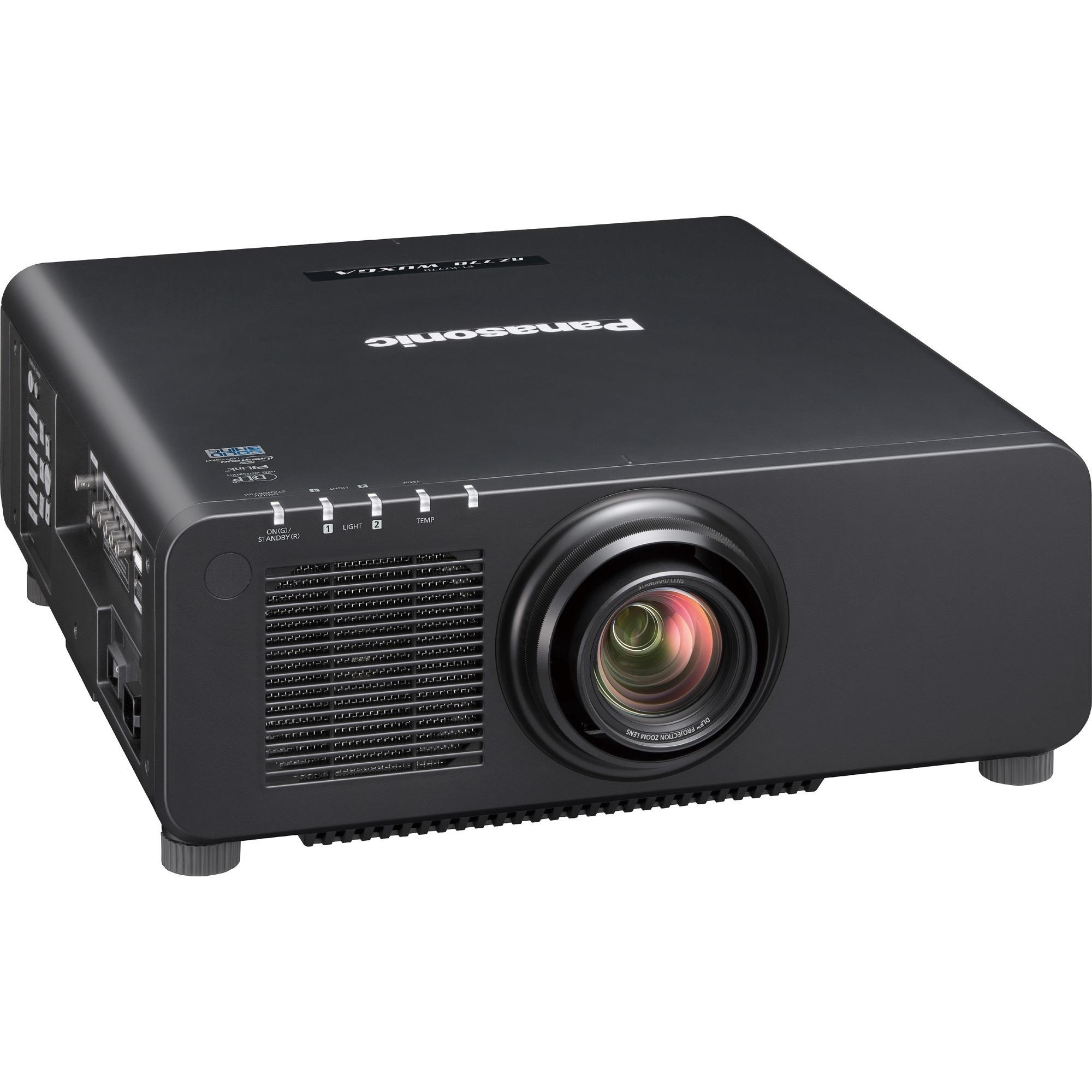 Panasonic SOLID SHINE PT-RZ770 DLP Projector - 16:10 - Black_subImage_1