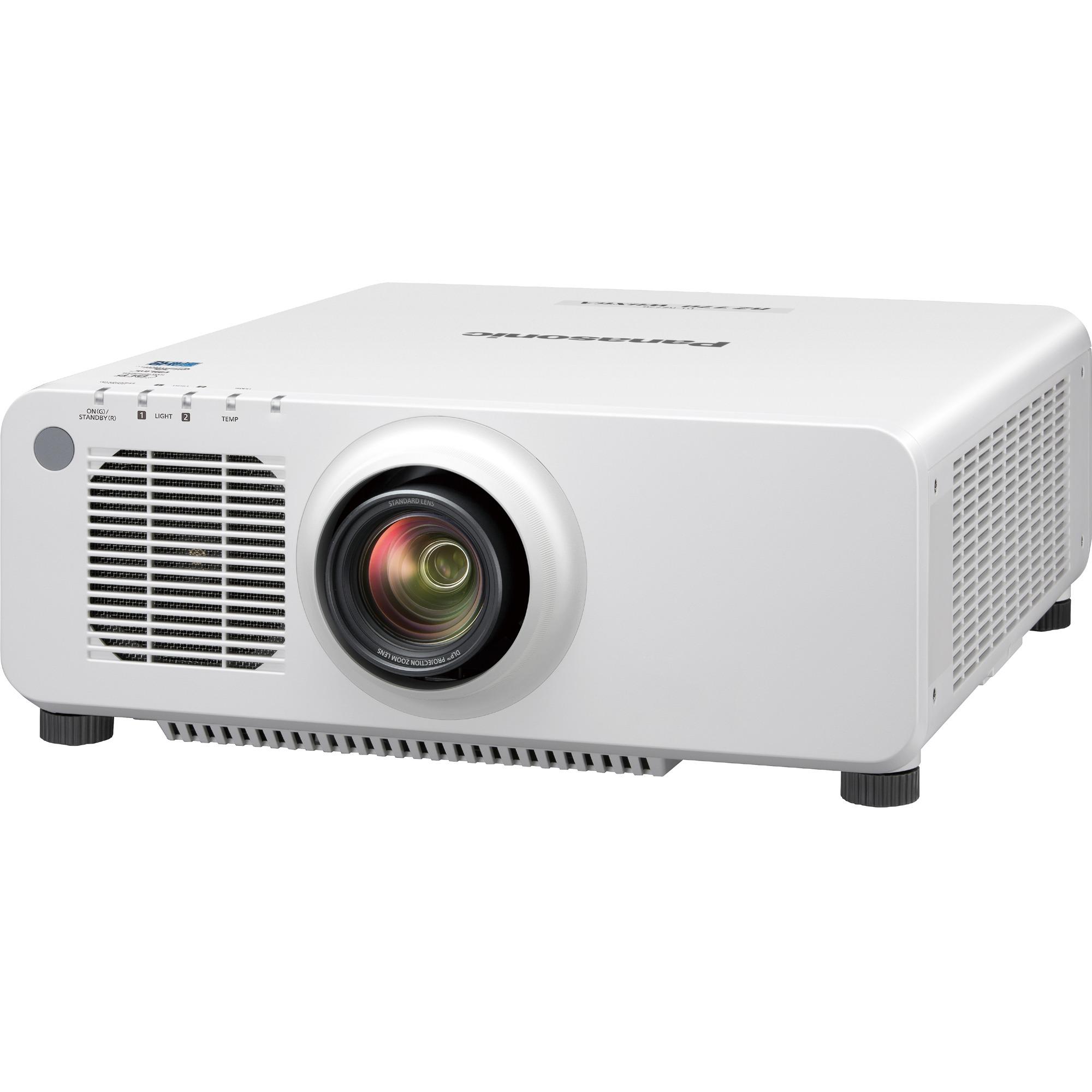 Panasonic SOLID SHINE PT-RZ770 DLP Projector - 16:10 - White_subImage_1