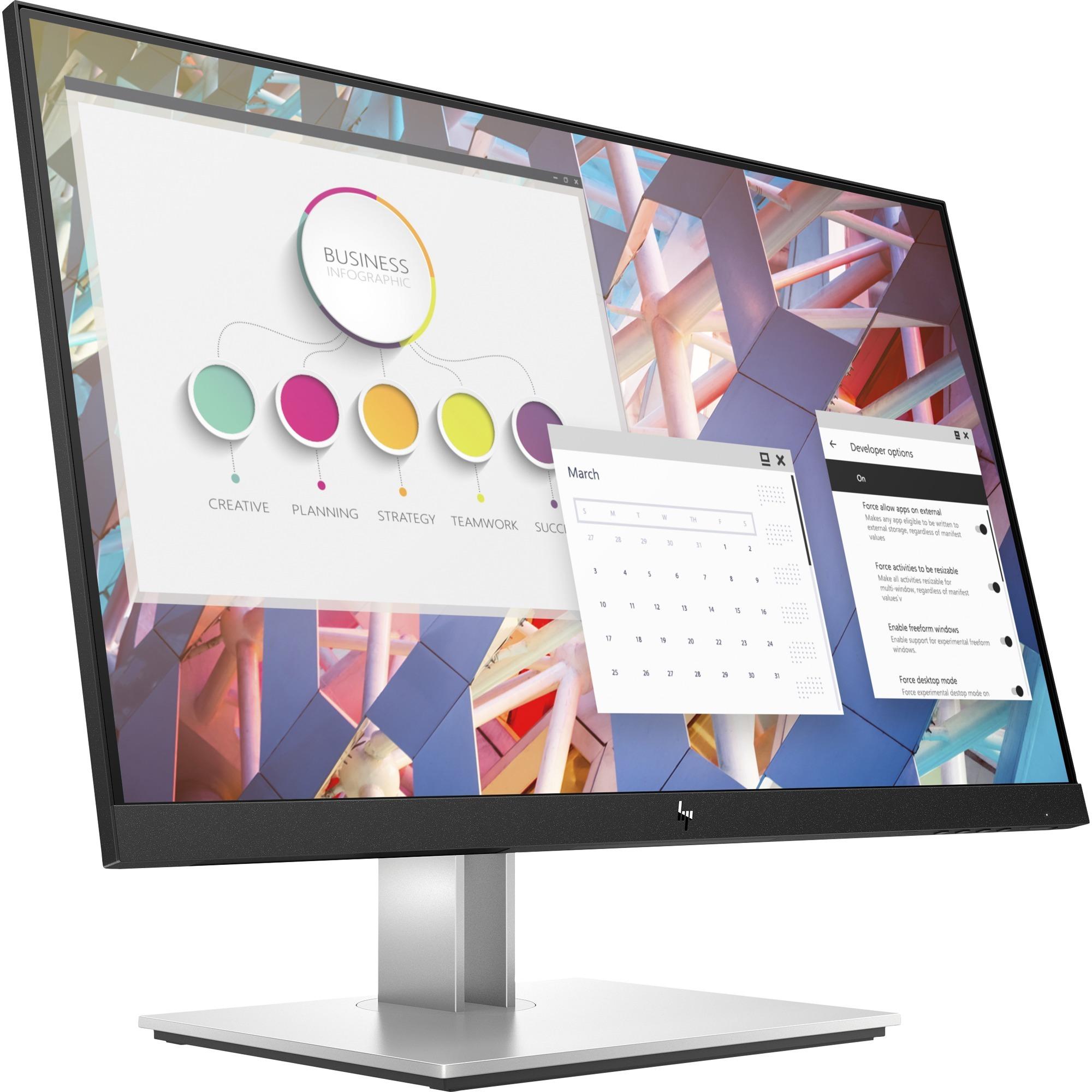 """HP E24 G4 23.8"""" Full HD LED LCD Monitor - 16:9 - Black_subImage_1"""