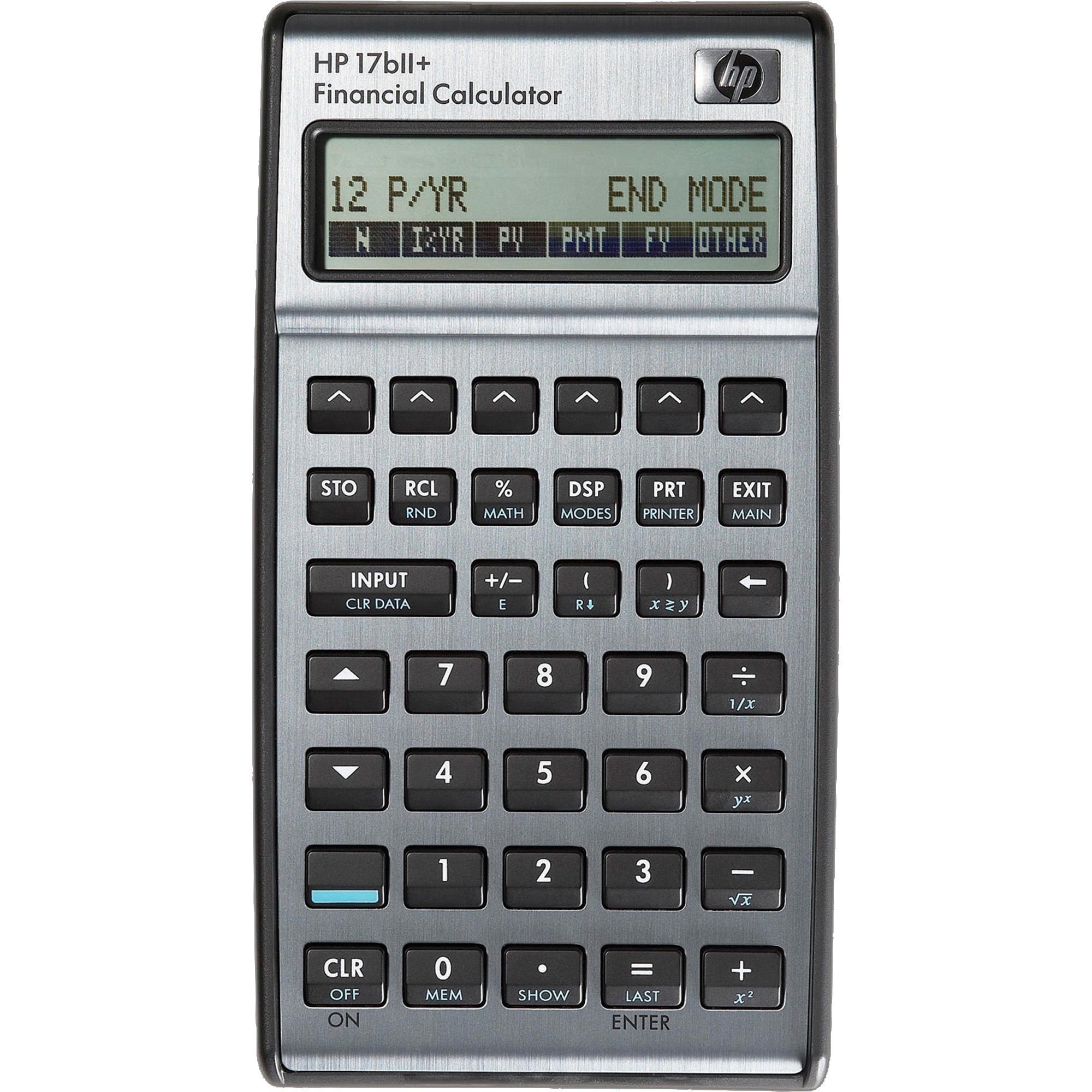 HP 17BIIPlus Business Financial Calculator