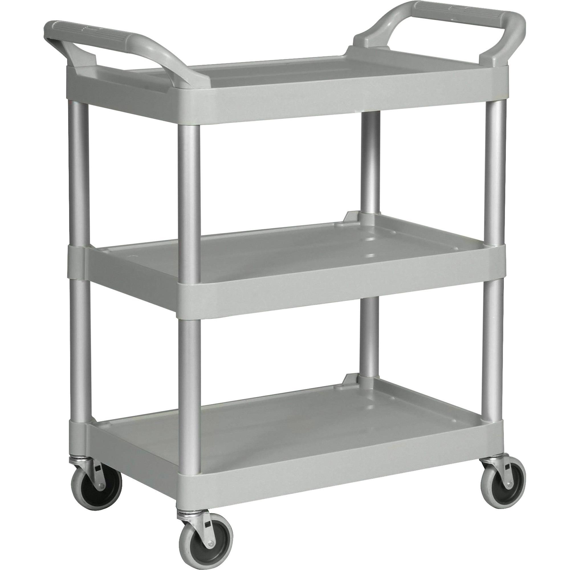 Rubbermaid Commercial 3-Shelf Utility Service Cart