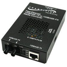 Transition Networks 100BASE-TX to 100BASE-FX Media Converter
