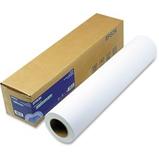 "Epson Photo Paper - 24"" x 100 ft - 192 g/m² - Matte - 104 Brightness - 1 / Roll - White"