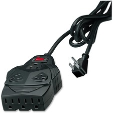 FEL 99090 Fellowes Eight-Outlet Mighty 8 Surge Protector FEL99090
