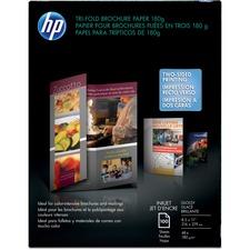 HEW C7020A HP Tri-Fold Custom Printing Brochure Paper HEWC7020A