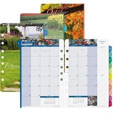 DTM 13486 Day-Timer Garden Path Monthly Calendar Refill DTM13486