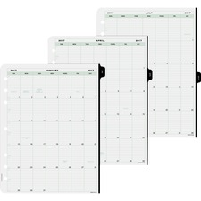 DTM 14010 Day-Timer 1-Page-Per-Day Planner Page Refill DTM14010