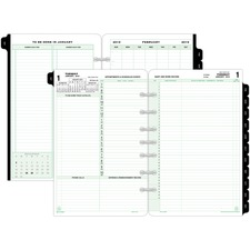 DTM 92800 Day-Timer 2PPD Reference Planner Refill DTM92800