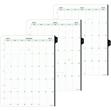 DTM 94800 Day-Timer Appointment 2PPD Ref. Planner Refills DTM94800