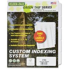 KLF 23055 Kleer-Fax Custom Indexing System KLF23055